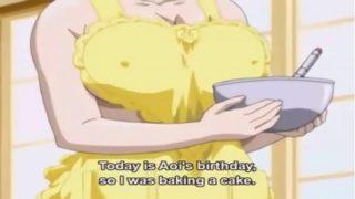 Big Boobs Anime Mother Swallows Cum