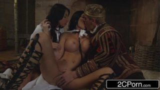 The Game of Thrones XXX Parody – Storm of Kings – Anissa Kate, Jasmine Jae
