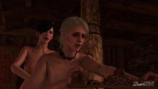 Corruption of the Lodge 3 PREVIEW – The Wticher Futanari