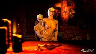 The Witcher – An Autumn Day – Geralt and Ciri