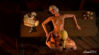 The Witcher – Ciri's and Geralt's obsession