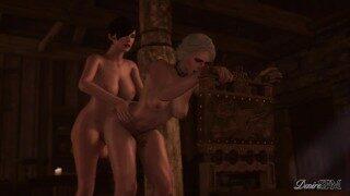The Witcher Futanari – Corruption of the Lodge 3 – Preview Ciri x Fringilla
