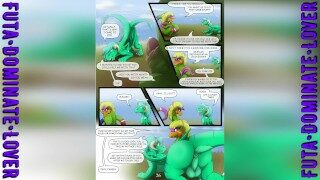 [2D Комикс] Фурри Яой – Ностальгические Моменты Часть 1